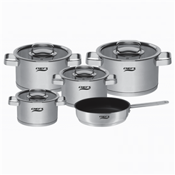 Bộ nồi 5 chiếc Chef's EH-CW6304