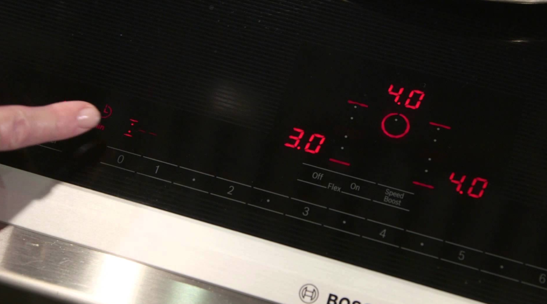 Bếp từ bosch báo lỗi và cách xử lý đơn giản, nhanh chóng