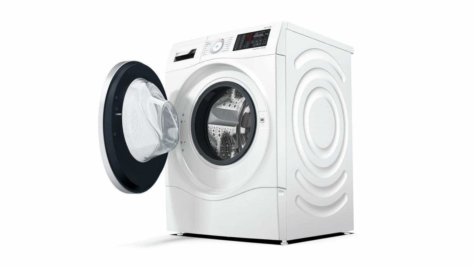 Máy Giặt Sấy Kết Hợp BOSCH HMH.WDU28560GB