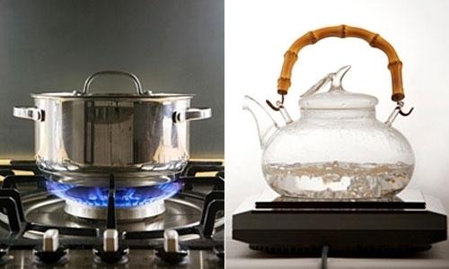 Dùng bếp điện từ hay bếp gas?