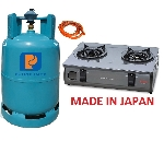 Bộ bếp gas Paloma PAJ-S2B - MADE IN JAPAN
