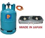 Bộ bếp gas Paloma PAJ-S2B Nhật xịn